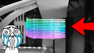 أسلاك كهرباء RGB ؟؟ | خصص كمبيوترك دون تغيير قطع!