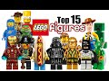 Top 15 LEGO Minifigures!