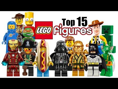 Top 15 LEGO Minifigures!