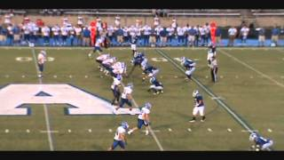 #45 Tiante Leak  Albemarle Bulldogs Football