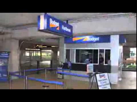 ORLANDO INTERNATIONAL AIRPORT FLORIDA USA Budget Car Rental Directions Video