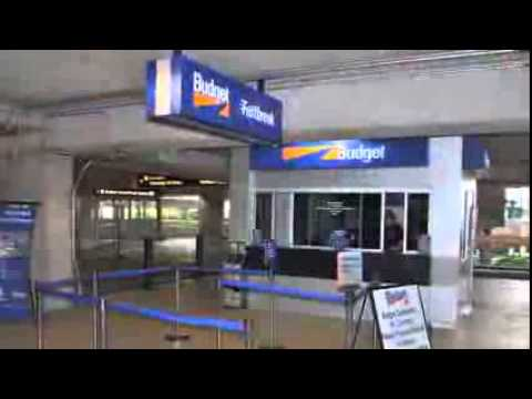 Orlando Car Rental ORLANDO INTERNATIONAL AIRPORT FLORIDA USA Budget Directions Video