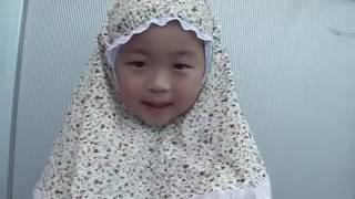 Трехлетняя девочка из Японии по имени Харука читает Коран, Ма шаa Аллах