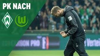 Pressekonferenz mit Florian Kohfeldt & Bruno Labbadia | Werder Bremen - VfL Wolfsburg 2:0