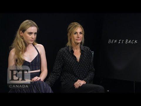 Julia Roberts, Kathryn Newton On 'Ben Is Back'