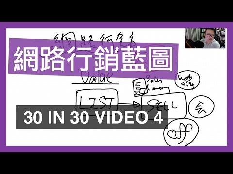 如何網路行銷:給新手的網路行銷藍圖 - 30 IN 30 VIDEO 4