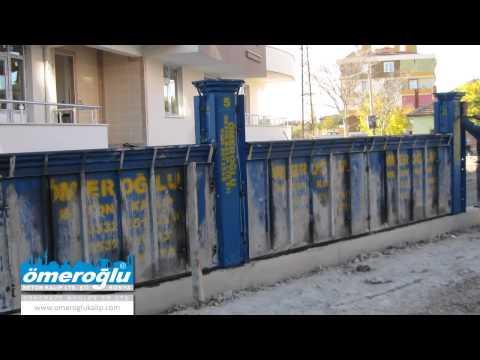 beton kalıp, duvar