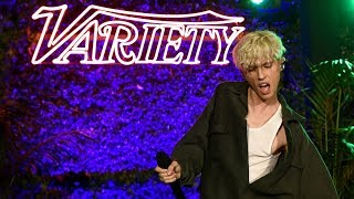 "Troye Sivan Performs ""My My My!"" at Variety's Emmy Celebration"
