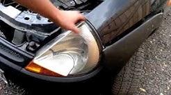 Ford Ka headlight removal