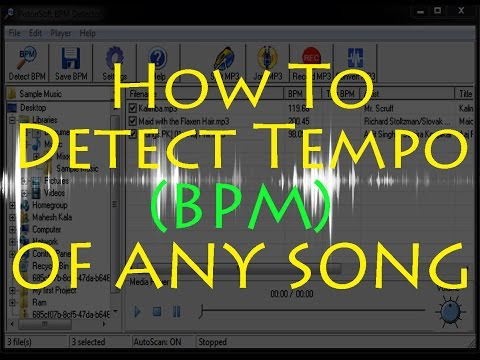 How To Detect Tempo (BPM) of Any Song on PC/Laptop Without any Digital Audio Workstation (in Hindi)