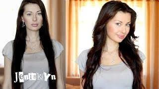 Прическа #9 Мягкие Локоны на Длинные Волосы Укладка Прическа JeniaKyn