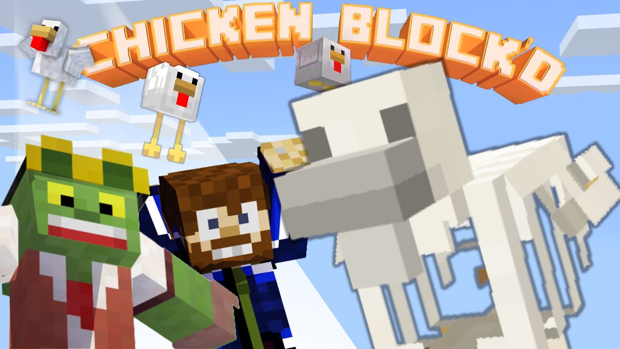 The Skeleton Chicken - 🐣CHICKEN BLOCK'D pt.5