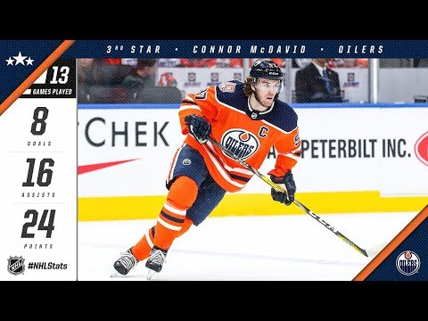 Connor McDavid awarded NHL Third Star of the Month