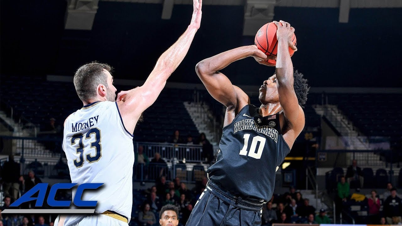 Wake Forest & Notre Dame Combine For 11-11 Shooting Stretch