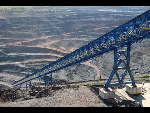 В карьере МГОКа строится дробильно-конвейерный комплекс