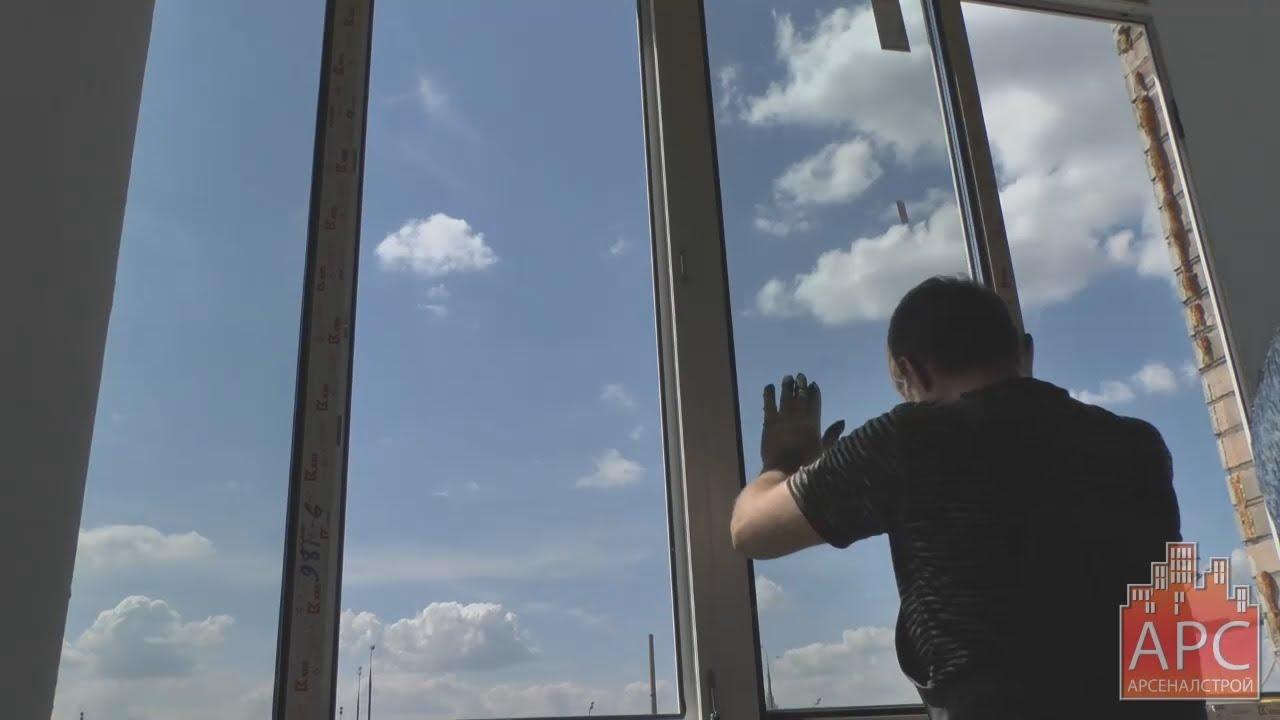 Технология остекления балкона пвх окнами от арсеналстрой - y.