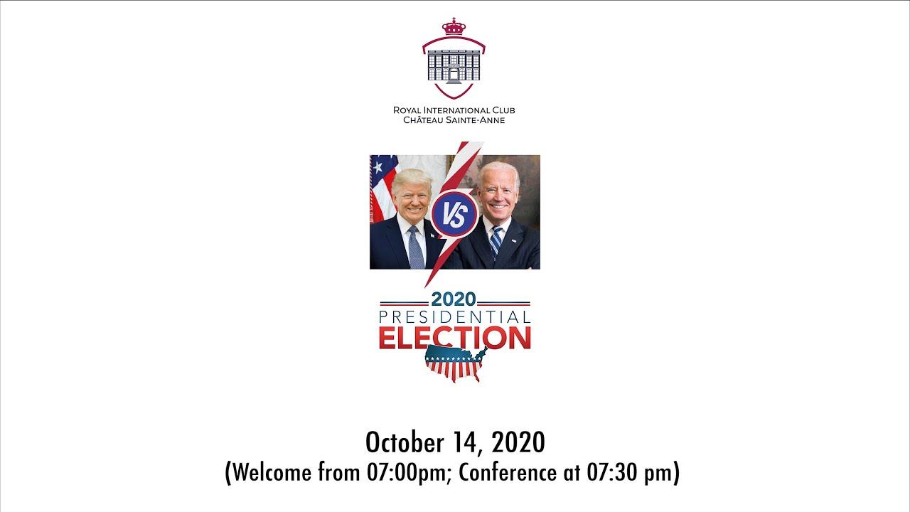 Brussels US Presidential Election Panel Debate 2020