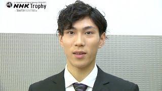 男子シングル>田中刑事選手インタビューの模様をご覧いただけます。