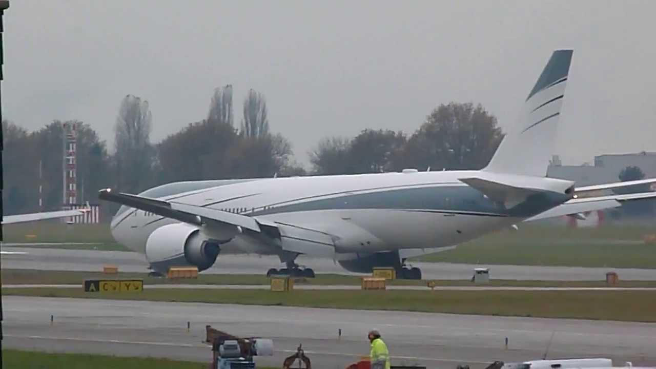 ... Link Company Boeing 777-200LR landing at Geneva/GVA/LSGG - YouTube