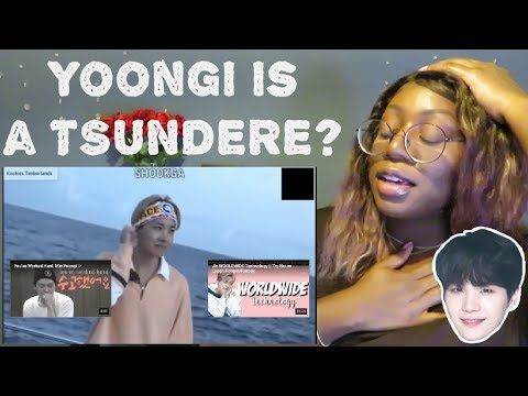 Mean Yoongi is Actually a TSUNDERE REACTION ♡♡