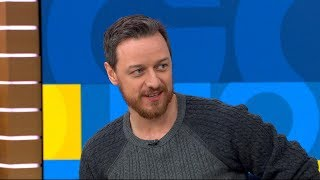 James McAvoy opens up about 'Sherlock Gnomes' live on 'GMA'