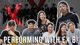 PERFORMING WITH EX BATTALION