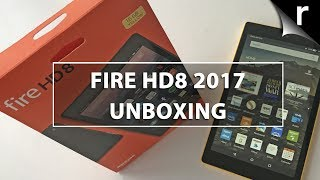 Amazon Fire HD8 2017 Unboxing & Hands-on Review: Now with Alexa!