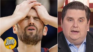 Nope! Brian Windhorst doesn't believe Kevin Love's relationship with Cavs GM is all good | The Jump