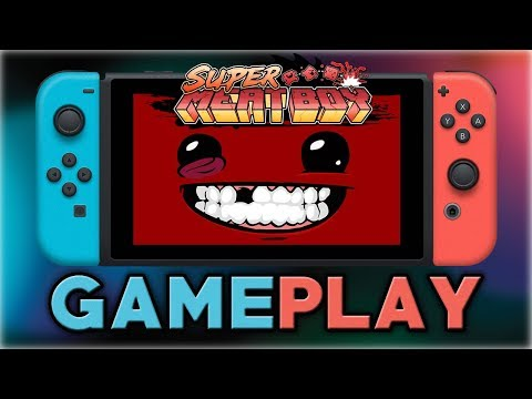Super Meat Boy | First 10 Minutes | Nintendo Switch