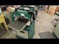 Grizzly G0453Z Planer. Moving Into The shop and Assembly
