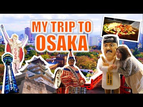 My trip to Osaka! 初めての大阪観光!
