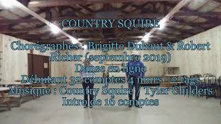 Country Squire Line Dance
