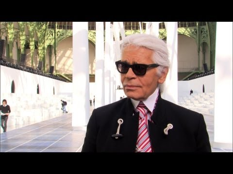 Karl Lagerfeld's Interview, Spring-Summer 2013 Show