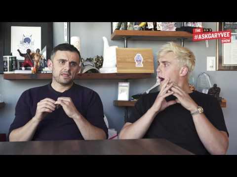 Gary Vaynerchuk and Jake Paul - Awkward Moments