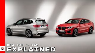 2020 BMW X3M and X4M Competition Explained
