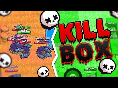 What Is The KILL BOX Game Mode In BRAWL STARS?!