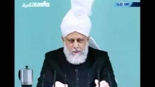 Проповедь Хазрата Мирзы Масрура Ахмада (15-10-10) часть 2