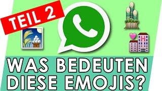 Whatsapp EMOJIS Bedeutung erklärt - Teil 2 (Special) 🎑🏩🎍 Geniale Fakten, Tipps & Tricks