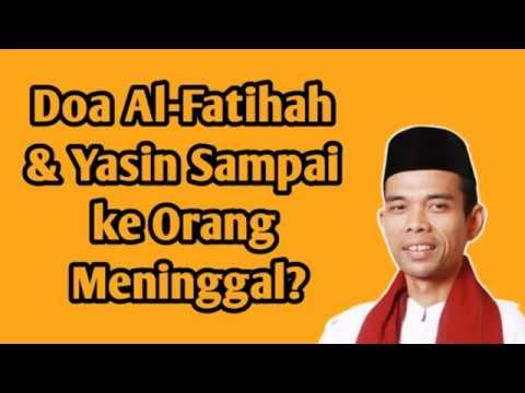 Doa Kirim Al Fatihah Untuk Orang Meninggal