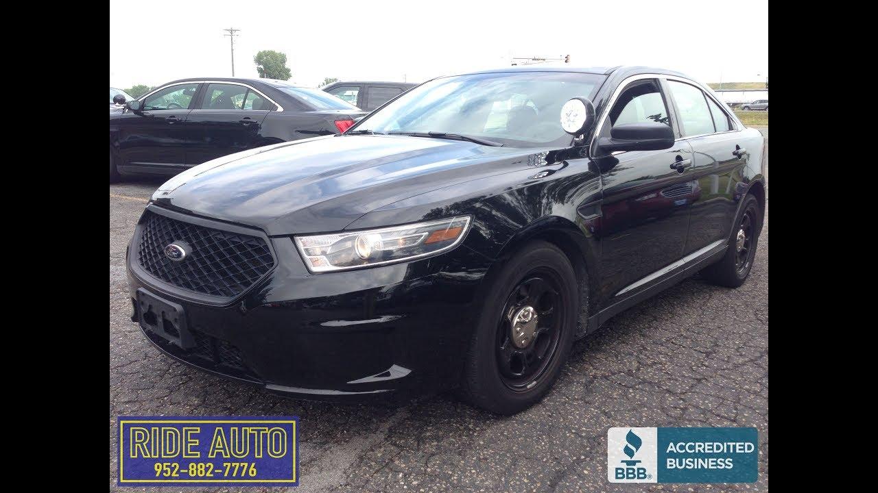 2017 Ford Taurus Police Interceptor Awd H O V6 17236