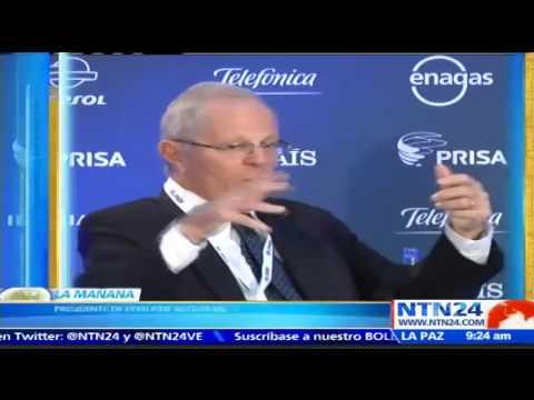 """""""No hay democracia en Venezuela"""": presidente de Perú, Pedro Pablo Kuczynski"""
