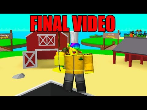 This Is My Final ROBLOX EGG HATCHING SIMULATOR Video.. Here's Why..