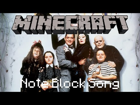 Minecraft Note Block Song: The Addams Family Theme