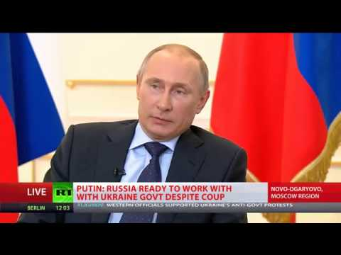 Putin - Annexing of Crimea out of question