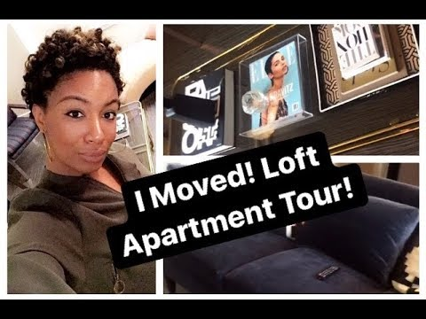 I Moved! Unofficial Studio Loft Apartment Tour-Raleigh NC