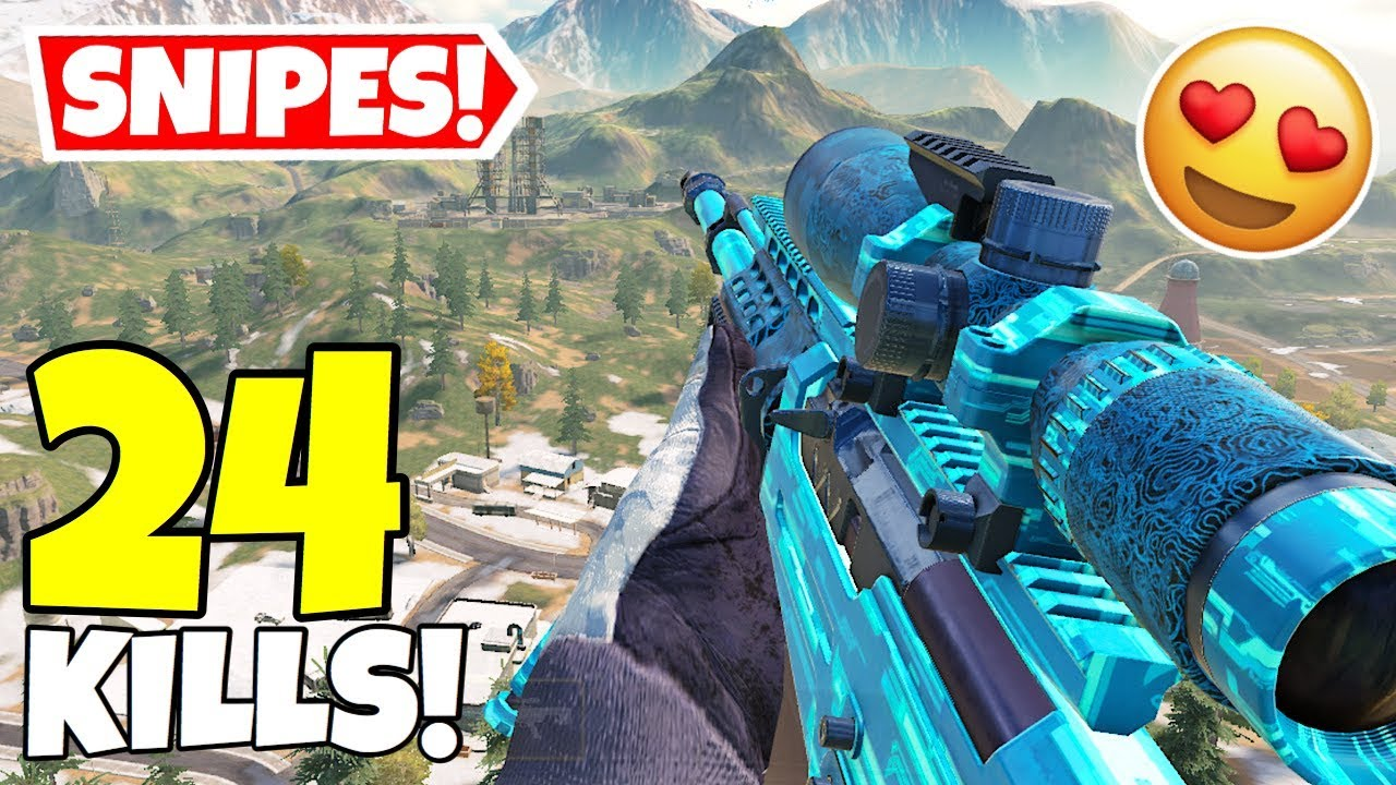 *NEW* ARCTIC.50 OPEN CIRCUIT SNIPES IN CALL OF DUTY MOBILE BATTLE ROYALE!