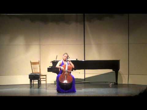 Rachel Mercer - Bach Cello Suite No. 6 in D Major, BWV 1012 - Gigue