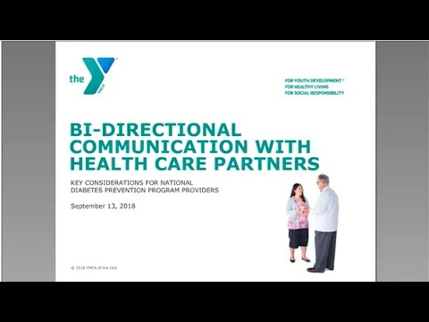 Bi-Directional Referrals: Considerations For National DPP Providers