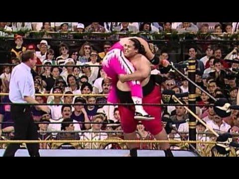 WWE Hall of Fame: Yokozuna defeats Bret Hart at