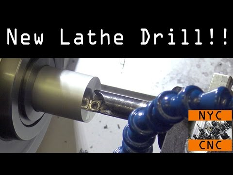 Awesome New CNC Lathe Drill!